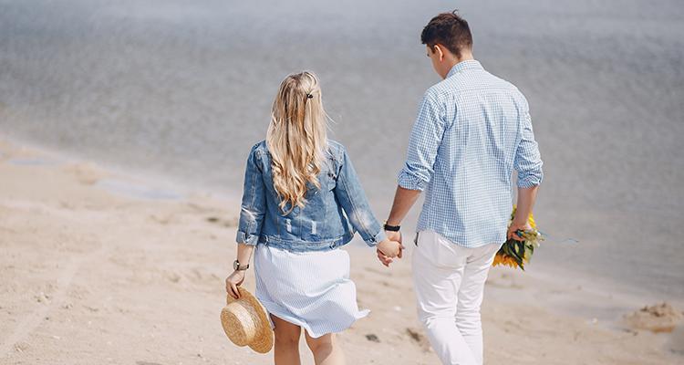 健全な交際をする不倫カップルのイメージ