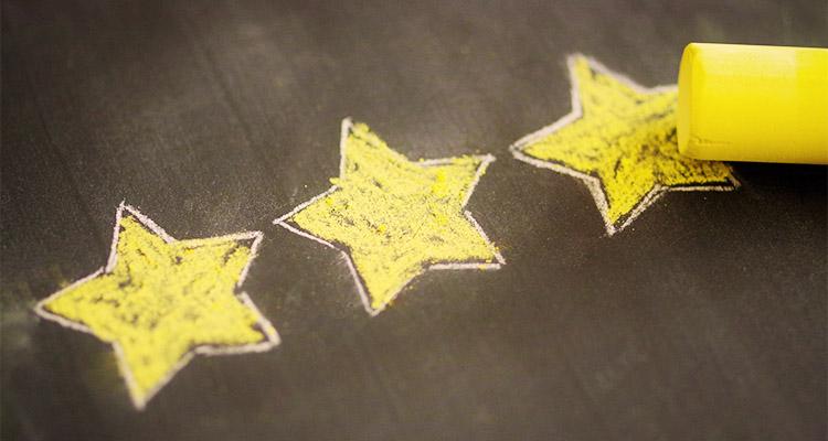 aimaキャストのランクを表す星