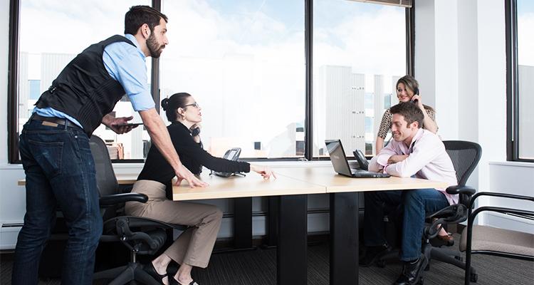 ベンチャー企業のオフィスのイメージ