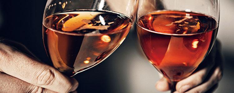 高級ワインで乾杯